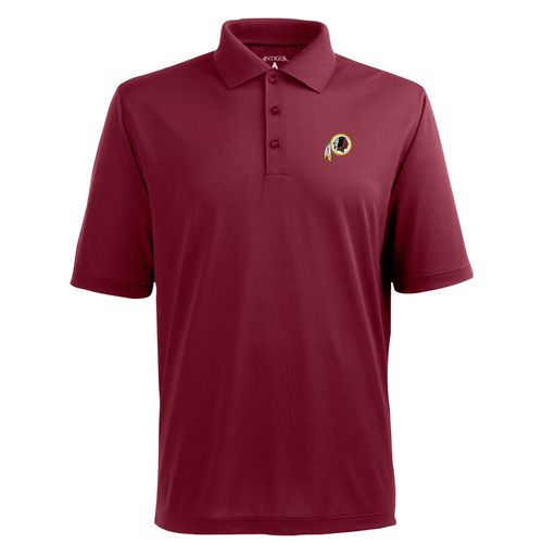 Antigua Men's Washington Redskins Piqué Xtra-Lite Polo Shirt