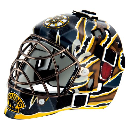 Franklin NHL Team Series Boston Bruins Mini Goalie Mask - view number 1