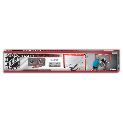 Franklin NHL® Hockey Goal and 2-Stick Set - view number 4