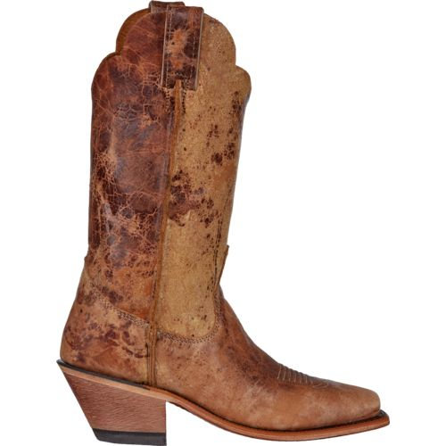 Justin Women's Bent Rail Tan Road Western Boots