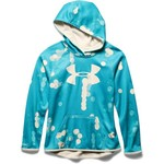 Under Armour® Girls' UA Armour® Fleece Printed Big Logo Hoodie