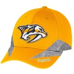Reebok Men's Nashville Predators Center Ice® Structured Flex Cap