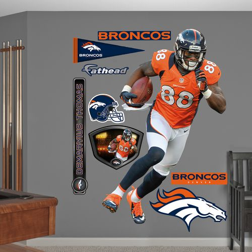 Fathead Denver Broncos Demaryius Thomas Real Big Wall