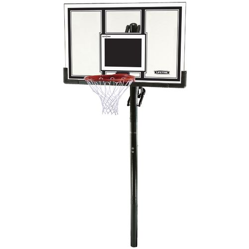"Lifetime 54"" Makrolon® Inground Basketball Hoop"