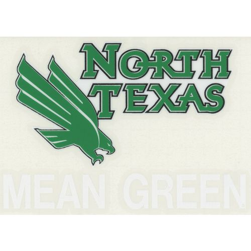 "Stockdale University of North Texas 4"" x 7"" Decals 2-Pack"