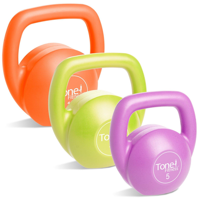 CAP Barbell Tone Fitness Kettlebell Set
