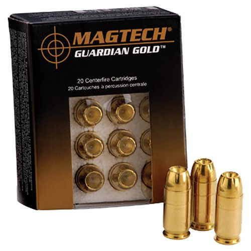 Magtech Guardian Gold Jacketed Hollow Point Centerfire Handgun Ammunition