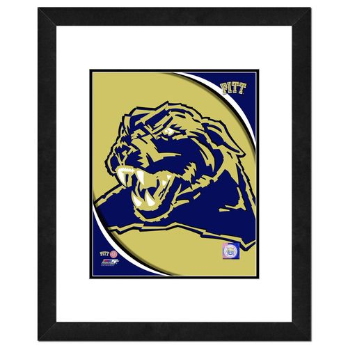 Photo File University of Pittsburgh Logo 16' x 20' Matted and Framed Photo