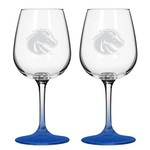 Boelter Brands Boise State University 12 oz. Wine Glasses 2-Pack