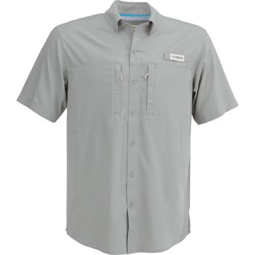Magellan outdoors men 39 s falcon bay short sleeve fishing for Short sleeve mens dress shirts clearance