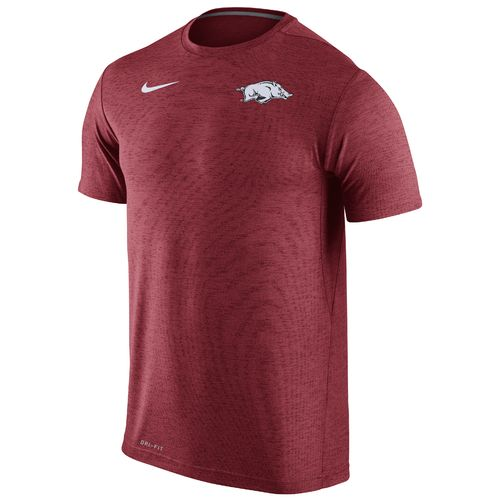 Nike™ Men's University of Arkansas Dri-FIT Touch T-shirt