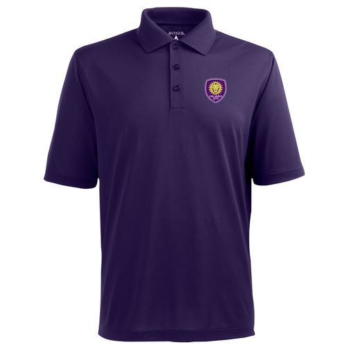 Antigua Men's Orlando City SC Piqué Xtra-Lite Polo Shirt - view number 1