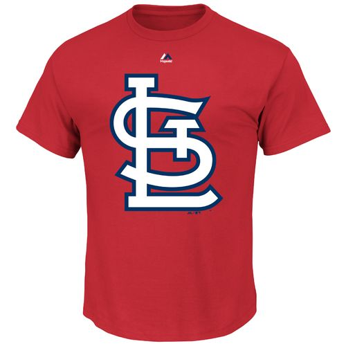 Majestic Men's St. Louis Cardinals Official Logo T-shirt