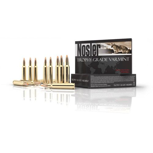 Nosler Trophy Grade Varmint .223 Remington/5.56 NATO Centerfire Rifle Ammunition - view number 1