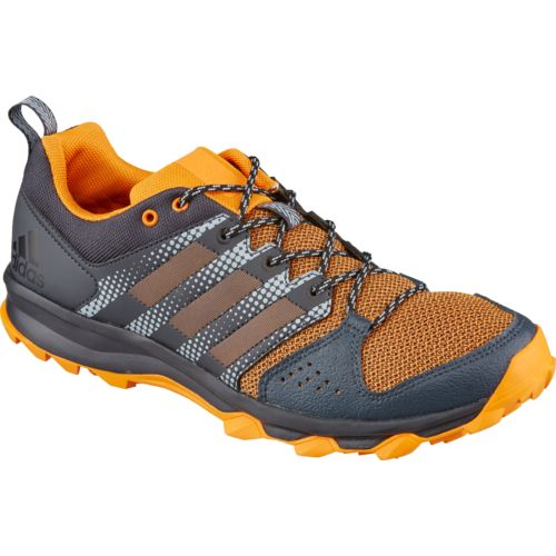 Adidas Mens Galaxy Trail Running Shoes (Black/Bright Orange or Black)