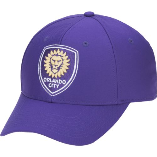 adidas Men's Orlando City SC Basic Structured Adjustable Cap