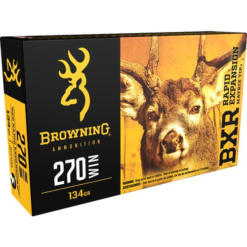 Browning Deer Hunting .270 Winchester 134-Grain Rifle Ammunition