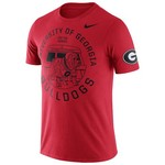 Nike Men's University of Georgia ENZ Campus Short Sleeve T-shirt