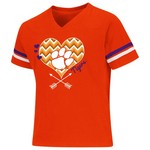 Colosseum Athletics Girls' Clemson University T-shirt
