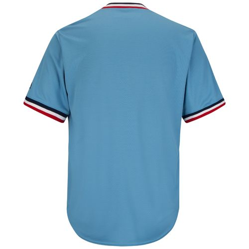 Majestic Men's Minnesota Twins Cooperstown Cool Base 1965 Replica Jersey - view number 2