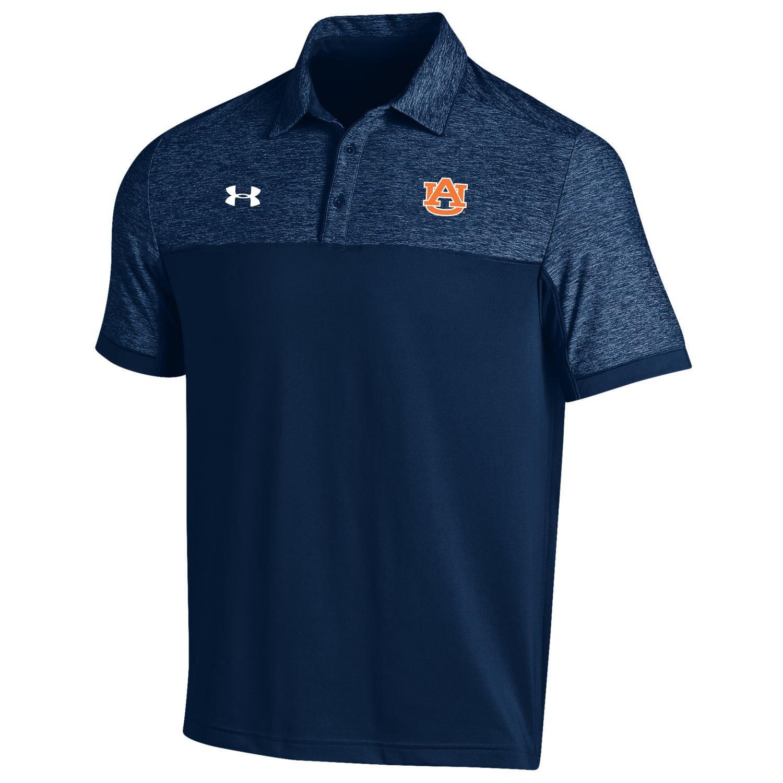 Under Armour® Men's Auburn University Podium Polo Shirt