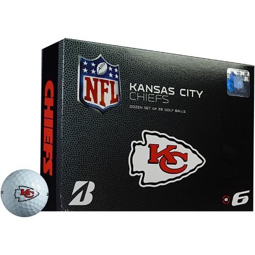 Bridgestone Golf Kansas City Chiefs e6 Golf Balls 12-Pack