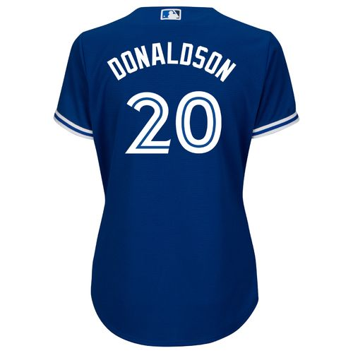 Majestic Women's Toronto Blue Jays Josh Donaldson #20 Cool Base Replica Jersey