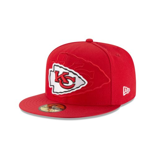 New Era Men's Kansas City Chiefs On Field 59Fifty Cap
