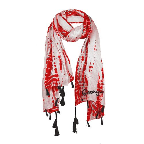 Chicka-d Women's University of Georgia Tie Dye Scarf