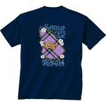 New World Graphics Women's Georgia Tech Bright Plaid T-shirt