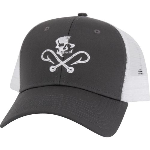 Salt Life™ Men's Skull and Hooks Mesh Hat