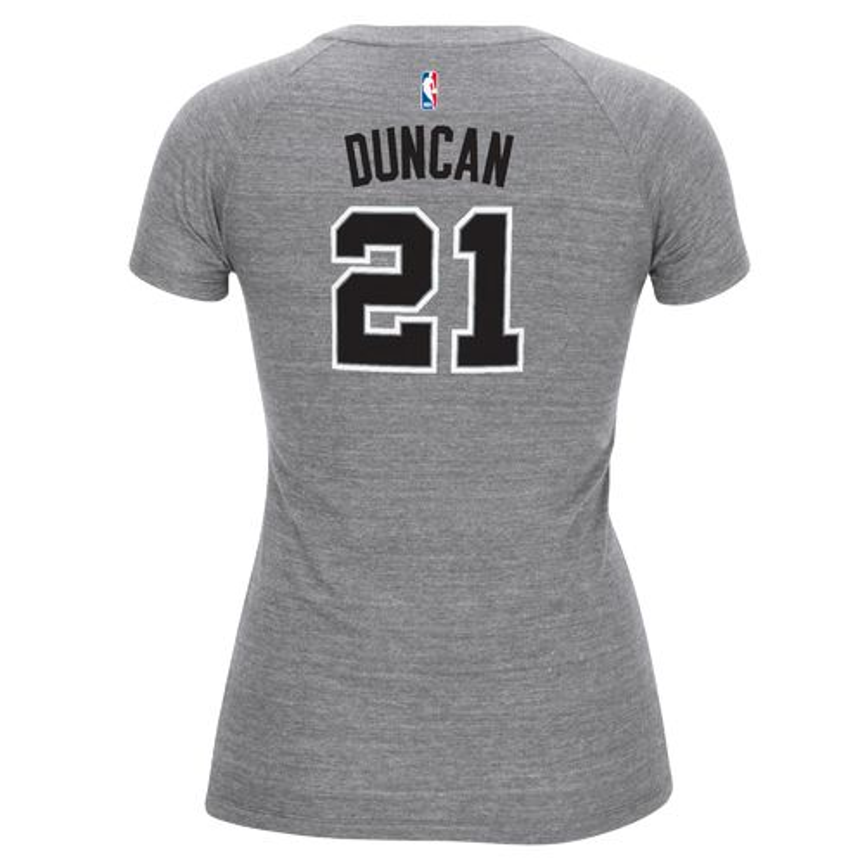 adidas™ Women's San Antonio Spurs Tim Duncan #21 T-shirt