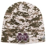 adidas™ Men's Mississippi State University Digital Camo Beanie