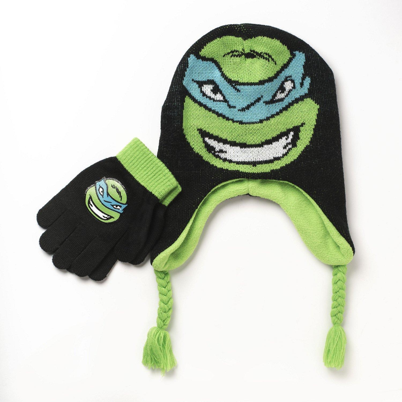 Nickelodeon Boys' Teenage Mutant Ninja Turtles Cold Weather Hat Set