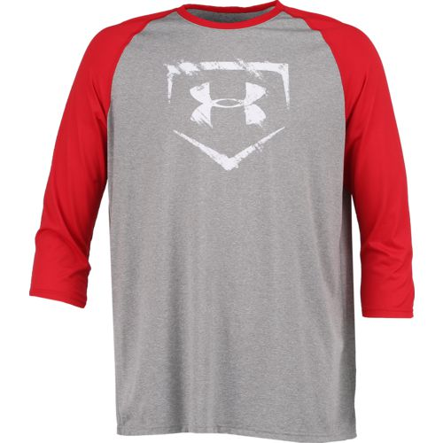 Display product reviews for Under Armour Men's Baseball 3/4 Sleeve T-shirt