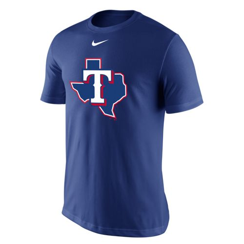 Nike Men's Texas Rangers Legend Logo T-shirt - view number 1