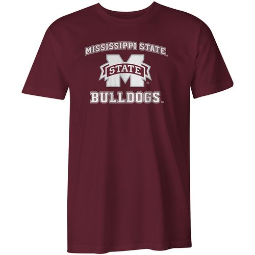Image One Men's Mississippi State University Arch Logo Comfort Color T-shirt