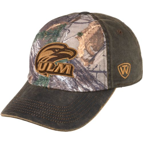 Top of the World Men's University of Louisiana at Monroe Driftwood Cap