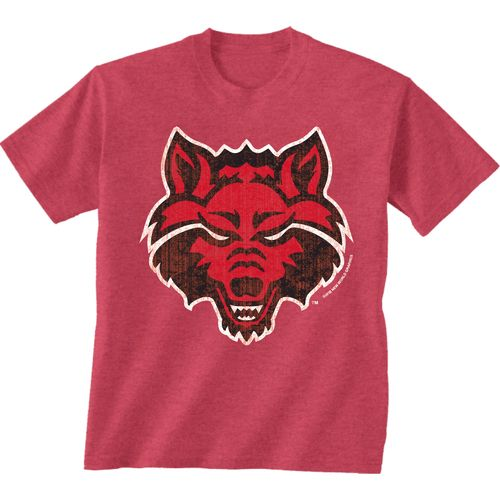 New World Graphics Men's Arkansas State University Alt Graphic T-shirt