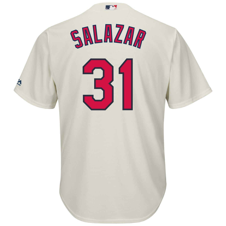 Majestic Men's Cleveland Indians Danny Salazar #31 Cool Base Replica Jersey