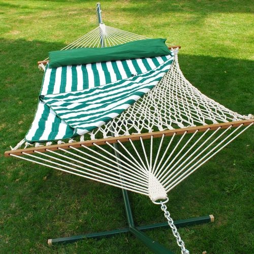 Algoma Cotton Rope Hammock Set - view number 1
