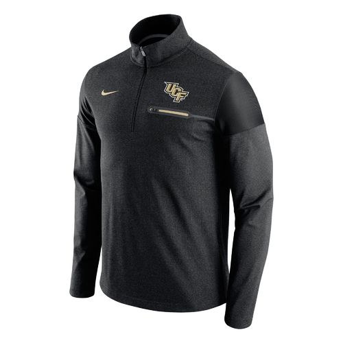 Nike™ Men's University of Central Florida Elite Coaches 1/2 Zip Pullover