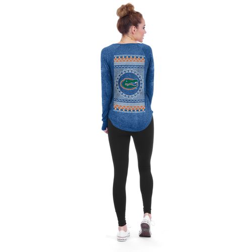 Chicka-d Women's University of Florida Favorite V-neck Long Sleeve T-shirt