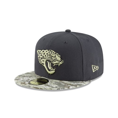 New Era Men's Jacksonville Jaguars Salute to Service 59FIFTY Cap