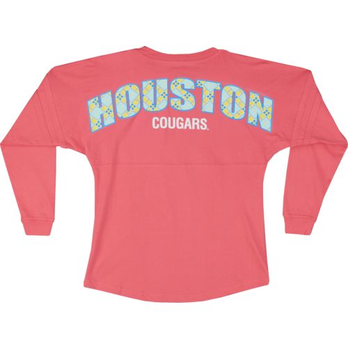 Boxercraft Women's University of Houston Coral Pom Pom Jersey