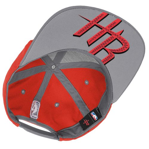 adidas Boys' Houston Rockets On Court Snapback Cap - view number 3