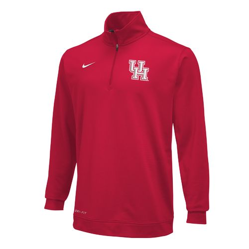 Nike Men's University of Houston Dri-FIT Performance 1/4 Zip Pullover