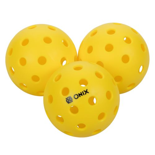 Onix Pure 2™ Outdoor Pickleballs 3-Pack