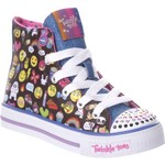 SKECHERS Girls' Twinkle Toes Shuffles Chat Time Shoes - view number 2