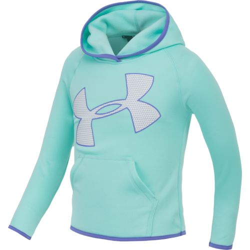 Under Armour™ Little Girls' Armour Fleece Jumb Logo Hoodie